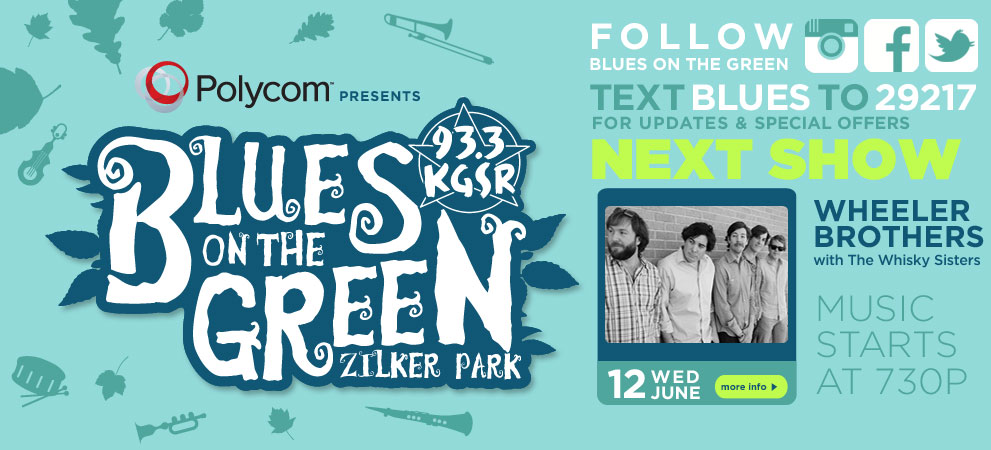 kgsr blues on the green