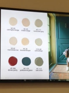 paint colors 2015
